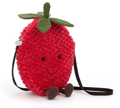 Jellycat Amuseable Strawberry Bag - 22cm
