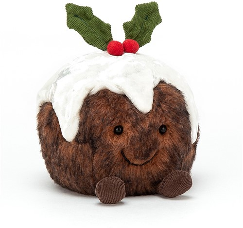 Jellycat Amuseable Christmas Pudding - 14cm