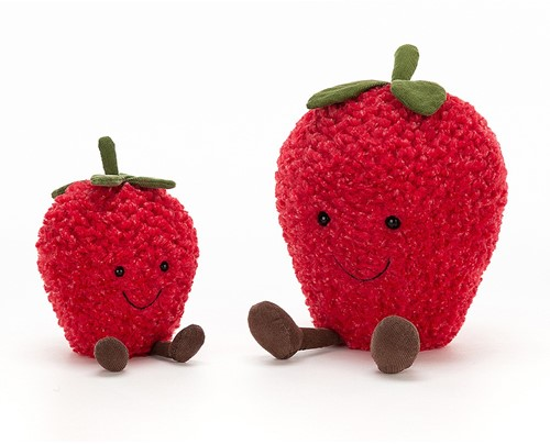 Jellycat Amuseable Strawberry Small - 20cm