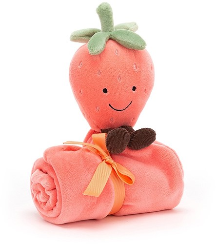 Jellycat Amuseable Strawberry Soother - 34cm