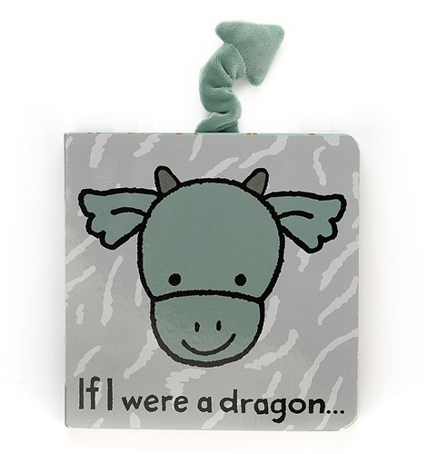 Jellycat If I were a Dragon Book - 15cm