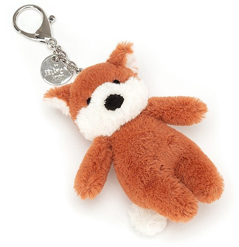 Jellycat Bashful Fox Bag Charm - 8cm