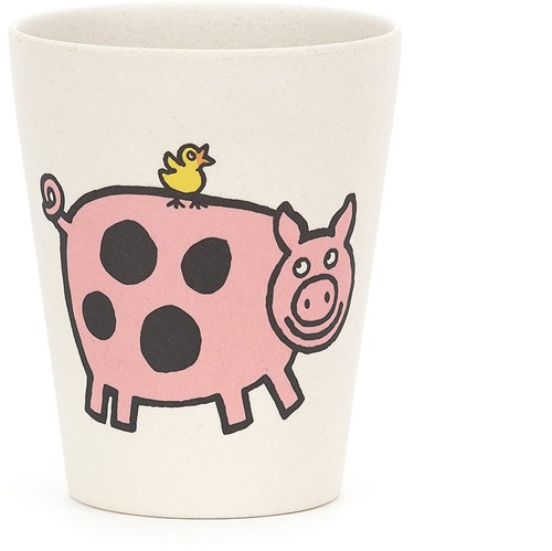 Jellycat Farm Tails Bamboo Cup - 9cm