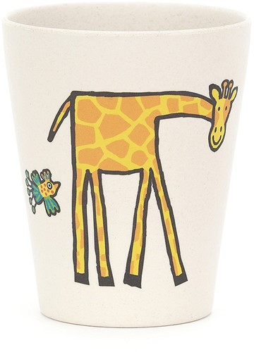 Jellycat Jungly Tails Bamboo Cup - 9cm