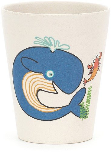 Jellycat Sea Tails Bamboo Cup - 9cm