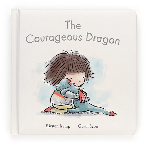 Jellycat The Courageous Dragon Book - 19cm