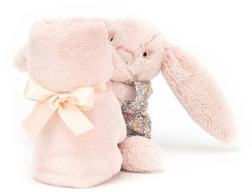 Jellycat Bedtime Blossom Blush Bunny Soother - 34cm