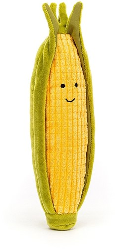 Jellycat Vivacious Vegetable Sweetcorn - 20cm