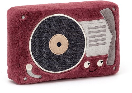 Jellycat Wiggedy Record Player - 24cm