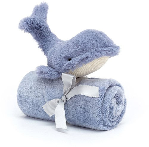 Jellycat Wilbur Whale Soother - 34cm