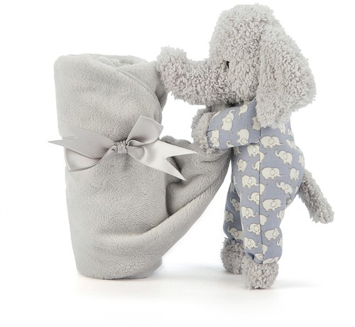 Jellycat Bedtijd OIifant Soother-2