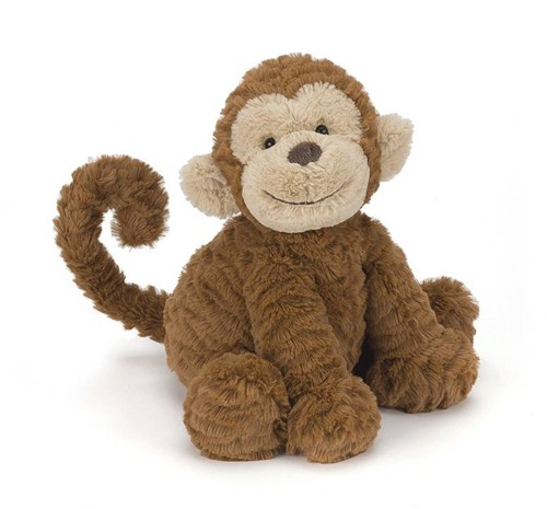 Jellycat knuffel Fuddlewuddle Aap Medium 23cm