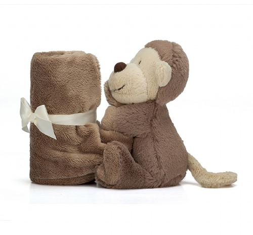 Jellycat Bashful Aap Soother-3