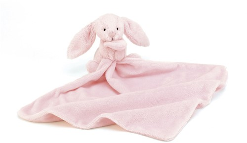 Jellycat Bashful Roze Konijn Soother
