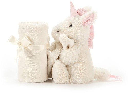 Jellycat Bashful Unicorn Soother - 33 CM-3