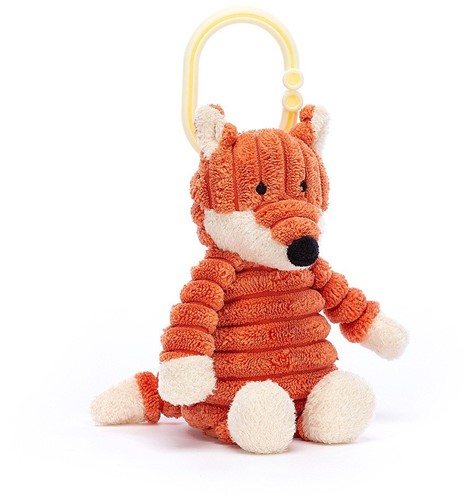 Jellycat Knuffel Cordy Roy Baby Vos Ring - 15cm
